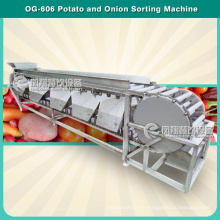 4 Levels Automatic Potato Tomato Walnut Sorting and Grading Machine