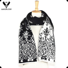 Fashion Winter Jacquard Double Face Scarf