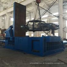 Hochleistungs-Schrott-Autoschalenrahmen-Industrieballenpresse