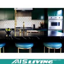 Muebles de gabinetes de cocina de la melamina del estilo clásico (AIS-K177)