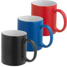 Vente en gros de tasse bon marché en céramique avec couleur personnalisée