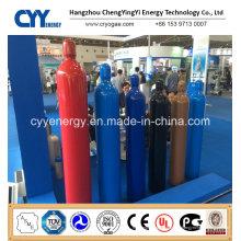 Sauerstoff Stickstoff Lar CNG Acetylen CO2 Hydrogeen CNG 150bar / 200bar Hochdruck Nahtlose Stahl Gasflasche