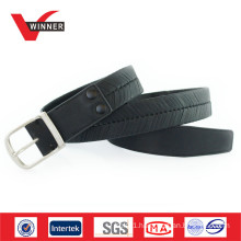 Wholesale Black PU Jean Men Belt