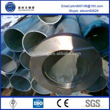 Coude galvanisé de haute qualité avec filetage et accouplement
