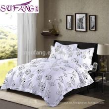 Alibaba China Suppiler Long Staple 60s 100% algodón ropa de cama de alta calidad larga grapa