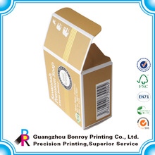 2014 cajas de embalaje de jabón personalizadas de diseño de moda y cajas de jabón hecho a mano y jabón al por mayor
