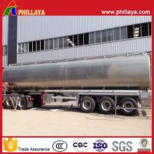Flüssiger Transport-Tanker-Edelstahl-Wassertank-Anhänger