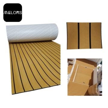 Melors Faux Teak Swim Deck Pad Synthetischer Bodenbelag
