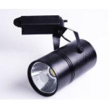 TUV CE COB Led Track Light 20W, Black Matte or White Matte