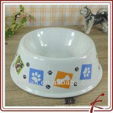 Tazones de cerámica de cerámica caliente para mascotas