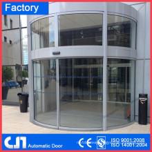 Office Building Auto Curved Door