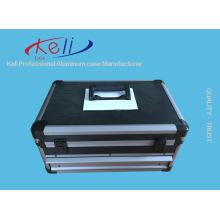 Kundenspezifischer Aluminium-Werkzeugkasten mit Schubladen