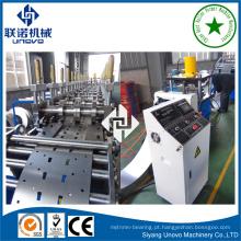 rolo de prateleira de mercadorias, formando máquinas