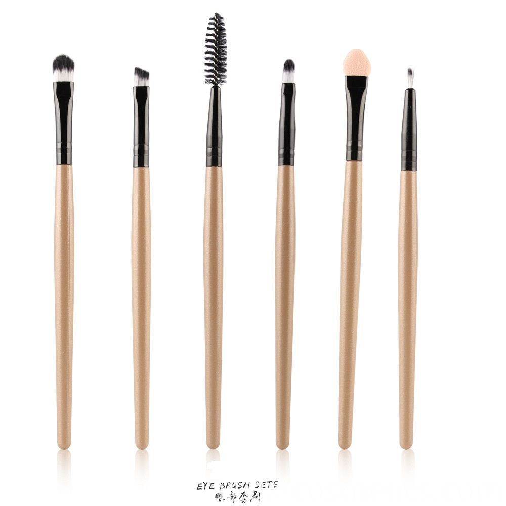 6 Piece Eye Makeup Brushes Set 9