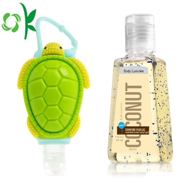 Turtle Hand Sanitizer Holder