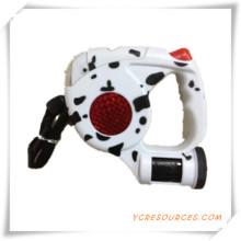 Correa del animal doméstico con LED y bolsa de basura para la promoción (TY005005)
