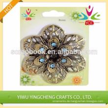 handgemachte Handwerk fashional Blume Eisen selbstklebende Aufkleber