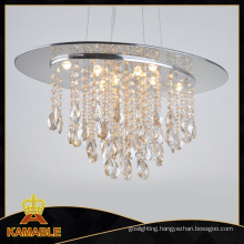 New Residential Chandelier Amber Crystal Light (9230-8B)