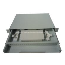 Волоконно-оптический патч-панель с выдвижным ящиком