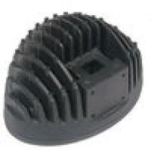 Clear Custom Aluminum Die Casting for Handles in Black Adonizing