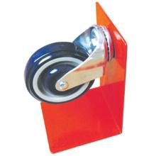 Meilleure vente PU Shopping Cart roulette