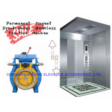 Máquina síncrona sin engranaje elevador casero de imán permanente