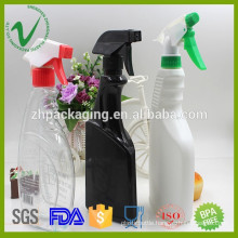 500ml HDPE cleaning wholesale empty liquid detergent plastic bottle with trigger spray