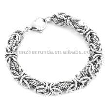 Wholesale Bracelet Jewelry Stainless Steel Intricate Byzantine Bracelet Vners Manufacturer Importer