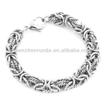 Vente en gros Bracelet Bijoux Acier inoxydable Inzambole Byzantine Bracelet Vners Fabricant Importateur