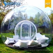 Durável, inflável, impermeável, camping, barraca, inflável, transparente, transparente, bolha, barraca