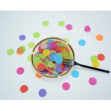 Paper and Metallic Confetti Round