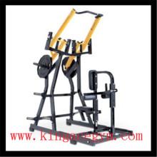 Équipement de forme physique Commerciale ISO-latéral avant Lat Pulldown