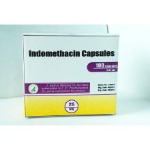 Capsules d'indométhacine de qualité médicale