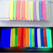 China Großhandel photoluminescent Pigmentpulver, leuchten in dunklen Pigmenten