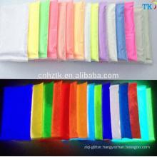 China wholesale photoluminescent pigment powder,glow in dark pigment