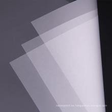 Película plástica delgada flexible de la película de policarbonato transparente de 0.5mm