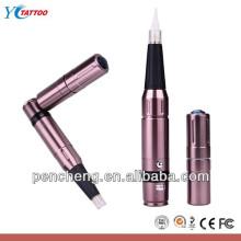 Rechargable eyebrow lip eyeliner permanent makeup machine & cosmetic makeup tattoo kit