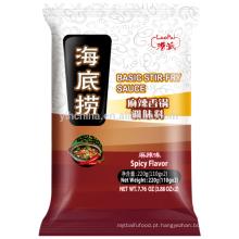 HaiDiLao Basic Stir Fry Molho Para Hot Pot-Spicy Temperos