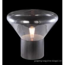 Clear Glass Table Lamp Modern (MT4008B)