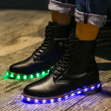 Led Sneaker Customized Light Up Shoes Color Changeable Big Size 35-46