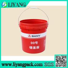 Película de transferencia de calor para cubo de productos químicos