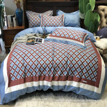 Home Product Good Quality Bedding Cotton Fabric Comfortable for King Bed Sheet Digital Printing