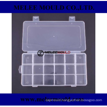 Transparent Plastic Divided Jewelry-Box Mould Small Items