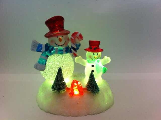 LED Christmas Lamp Snowman
