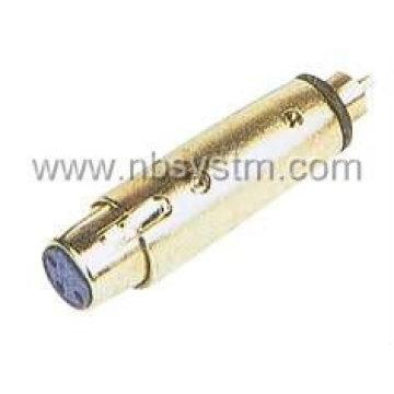 Ответ:3П микрофон разъем для RCA штекер Б:3Р микрофон разъем к штекер RCA