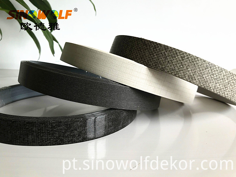 Abs Edge Banding Stone Color Popular High Gloss Abs