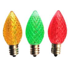 Ampoules décoratives aux fraises C7 LED Lampes de Noël