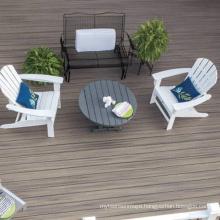 Outdoor waterproof and anti-corrosion garden engineering wood-plastic composite floor