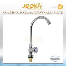 Jooka robinets d'évier de cuisine monotrou en chrome froid
