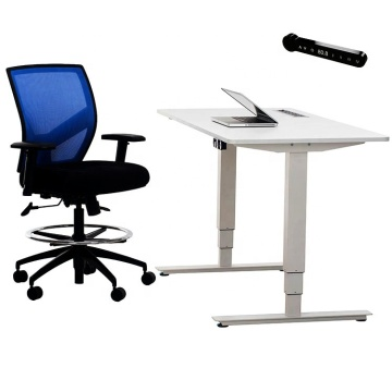 Biurko akrylowe Executive Electric Desk